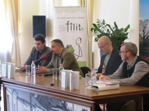 Doris Mironescu, Dan Lungu, Antonio Patras, Alistair Ian Blyth.