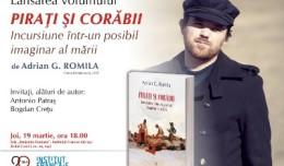 Afis_Pirati_si_corabii_Adrian_G._Romila_Iasi